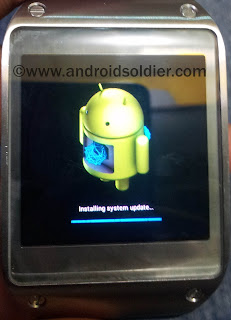 how to hard reset Samsung Galaxy Gear