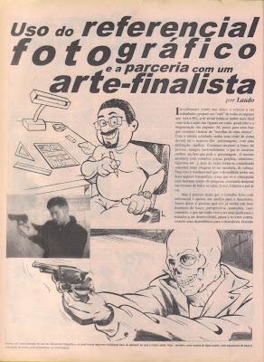 Pode-se ensinar ou aprender a fazer quadrinhos? AF1