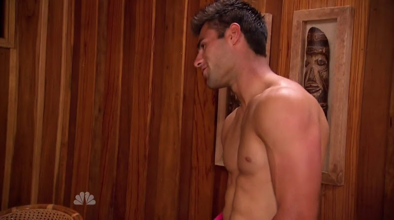 Steele Dewald Shirtless in Love in the Wild s1e04