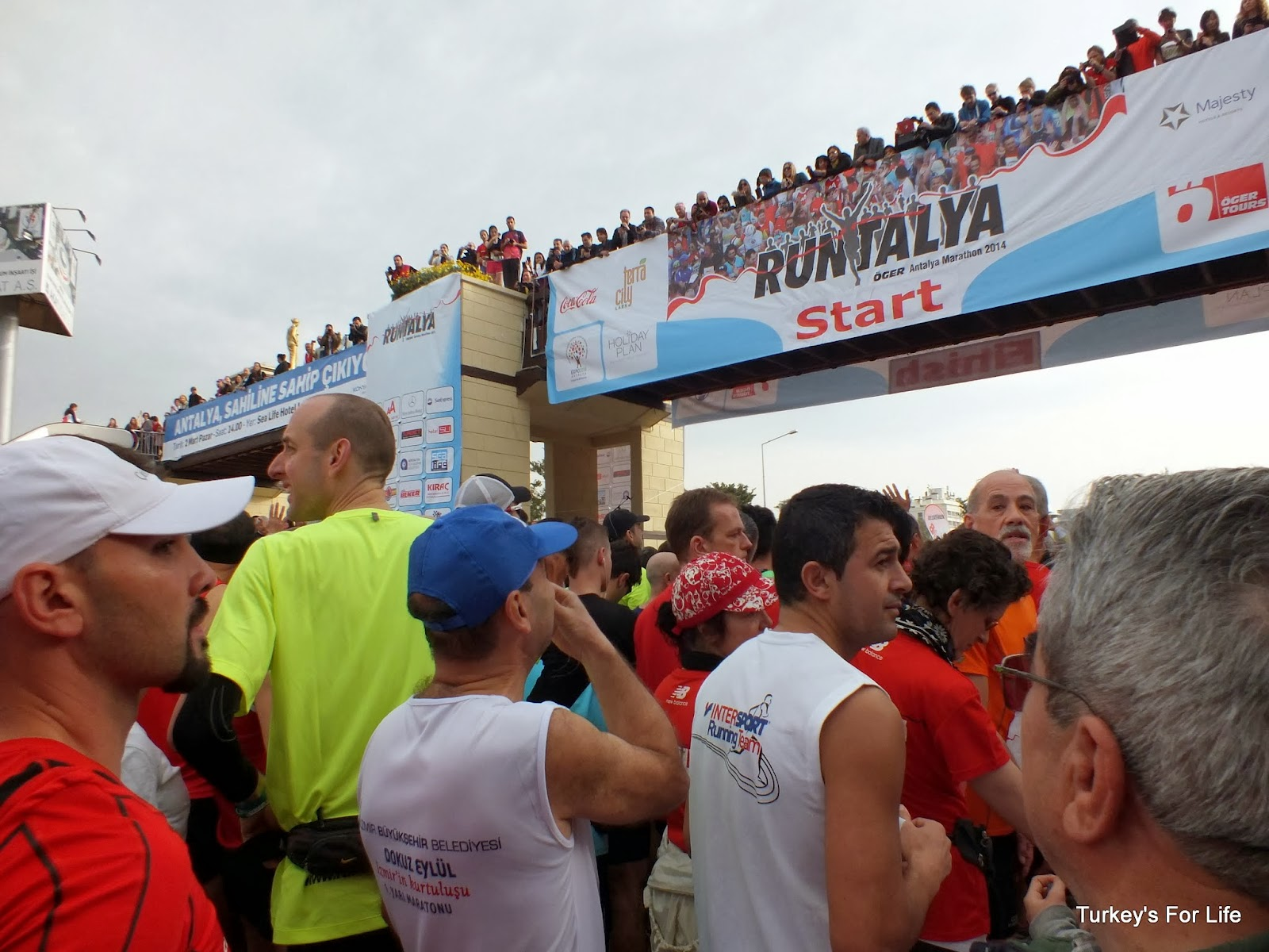 Runtalya 2014 - Start Line, Antalya, Turkey