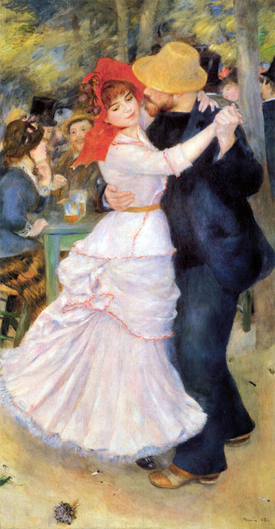 Pierre-Auguste Renoir's Dance at Bougival