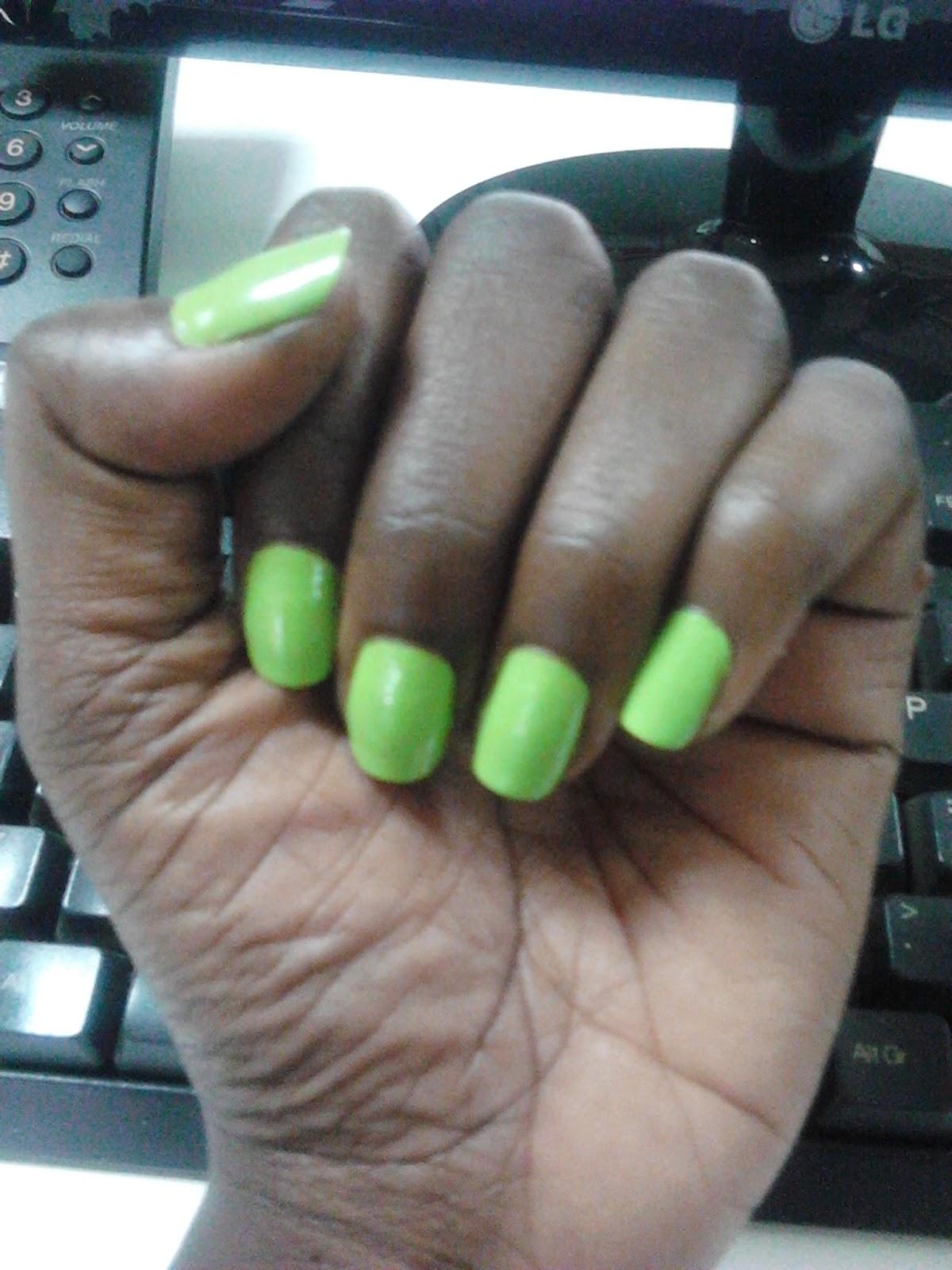Tweedy Runs This...: The Nail Polish Trend….Orange, Lime Green ...