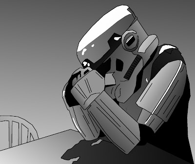 depressed stormship trooper