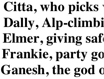 Abecedarian Alphabet Letters