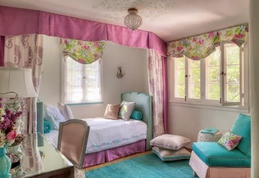 interior kamar tidur perempuan