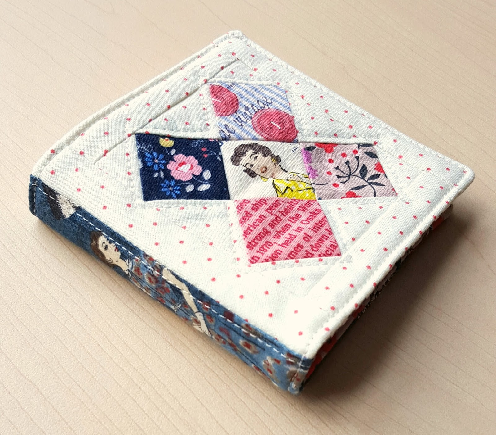 Fabric Book Cover With Pocket : Fabric mutt pocket mending book tutorial