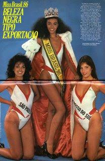 MISS BRASIL 1986 - DEIZE NUNES