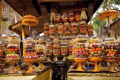 vacances à Bali, une cérémonie hindou à Bali, les rituels Bali, temples à Bali