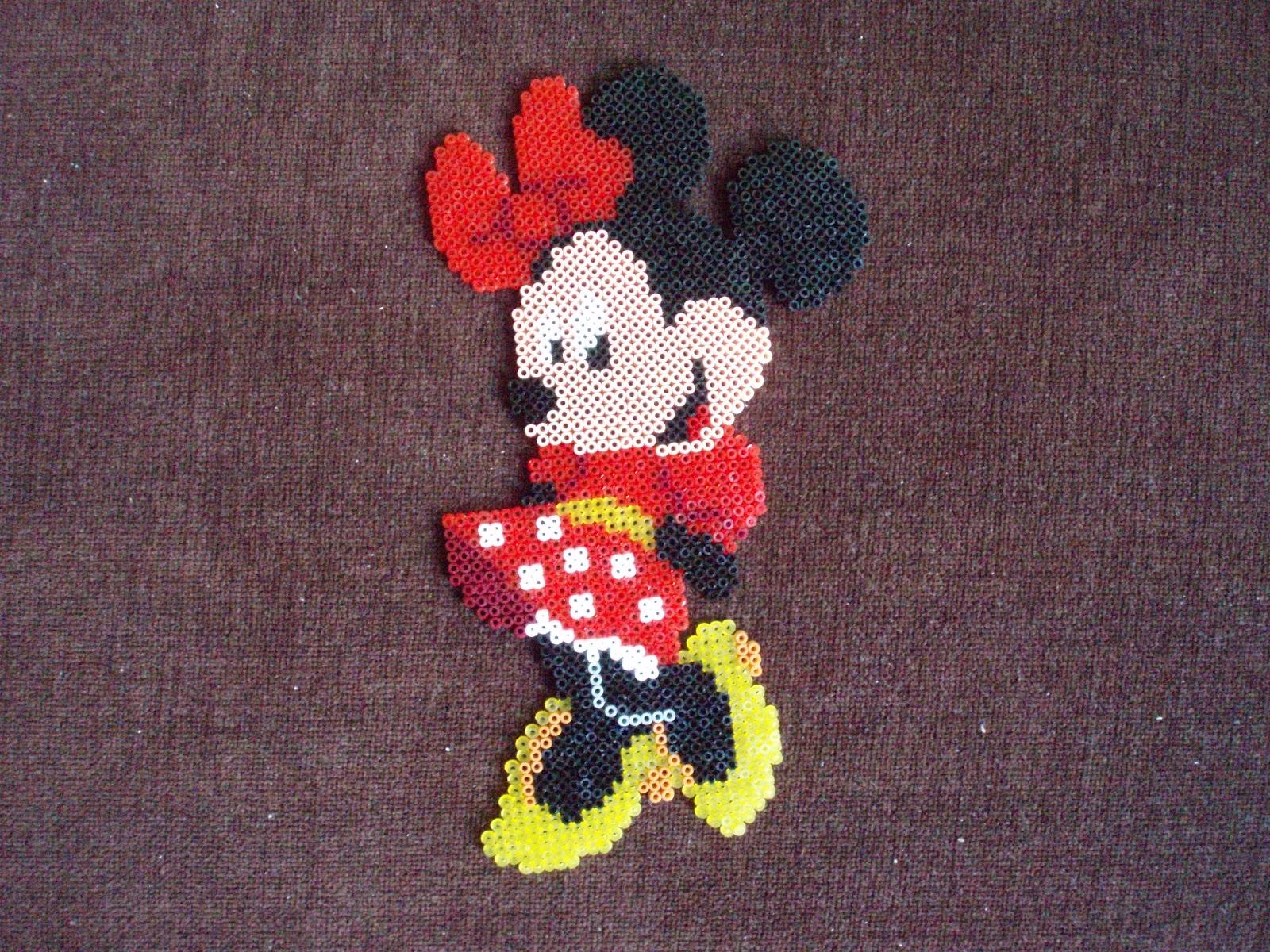 Minnie Mouse Hama Beads