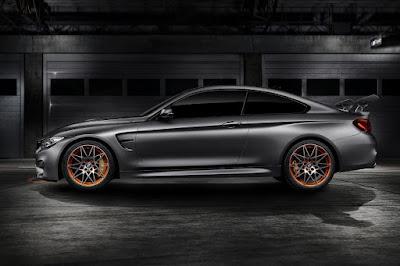 BMW Concept M4 GTS (2015) Side