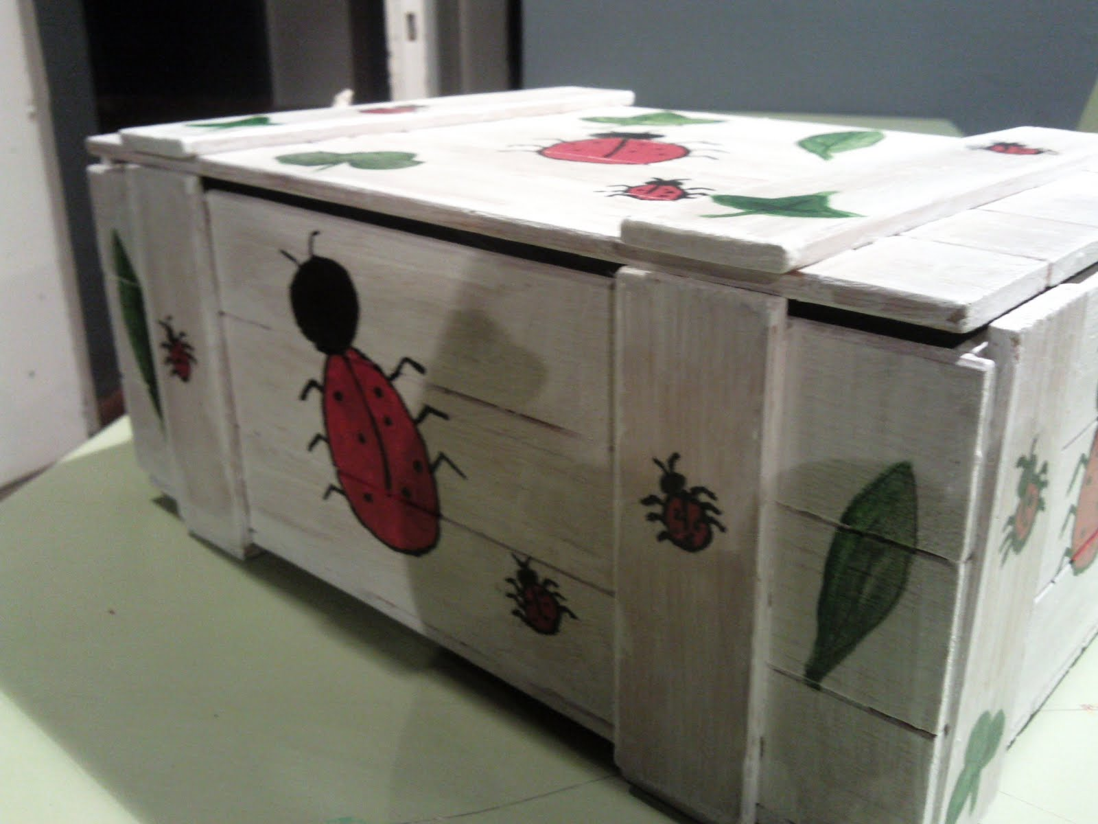 Artes decorativas geli molina caja de madera - Cajas de madera decorativas ...