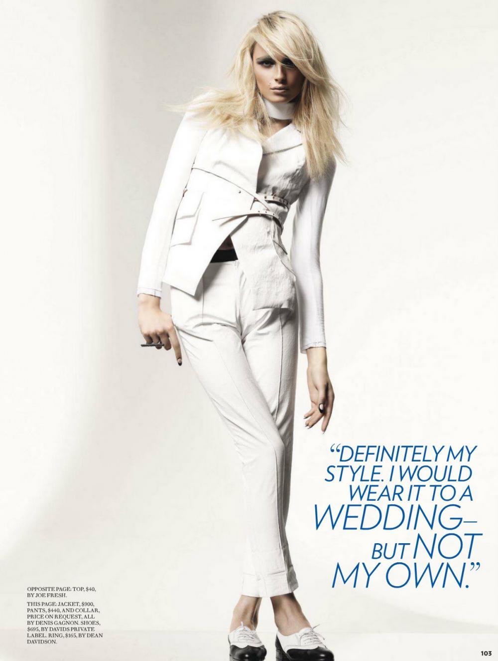 Fashion Magazine Canada The Love Issue February 2012