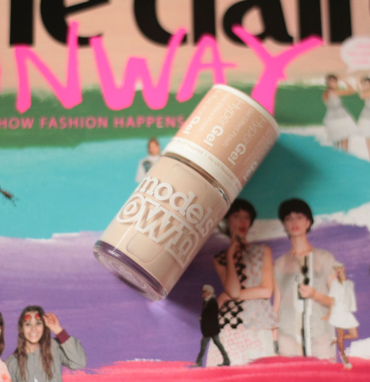 NOTD - Models Own Hypergel Naked Glow Swatches