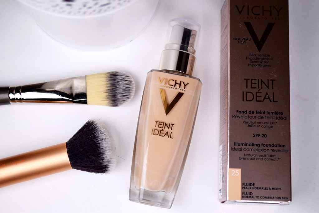 vichy teint ideal illuminating fluid foundation review. Black Bedroom Furniture Sets. Home Design Ideas
