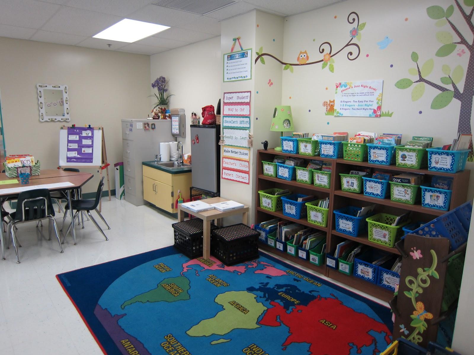 Classroom Tour 2012 on Kindergarten Classroom