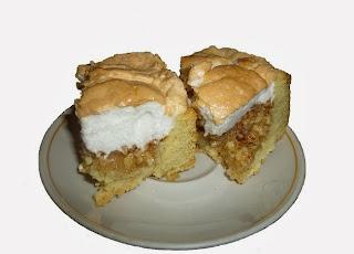 пирог из грецких орехов