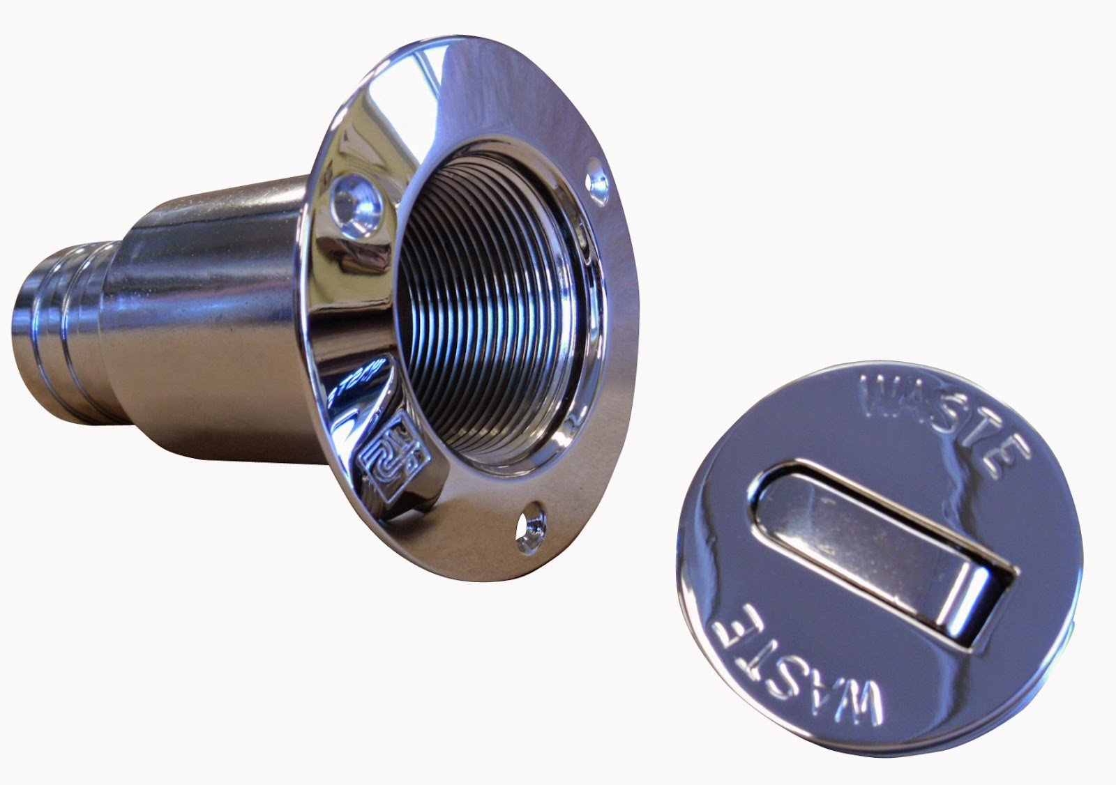 Dekksgjennomføring for tømming av septiktank i henhold til EN ISO 8099:2000