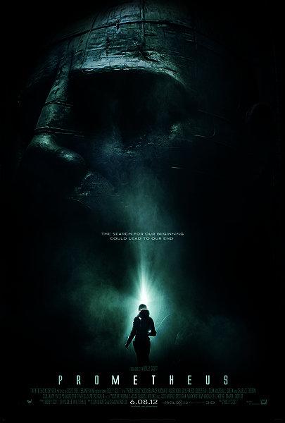 prometheus movie poster IMAX 3D