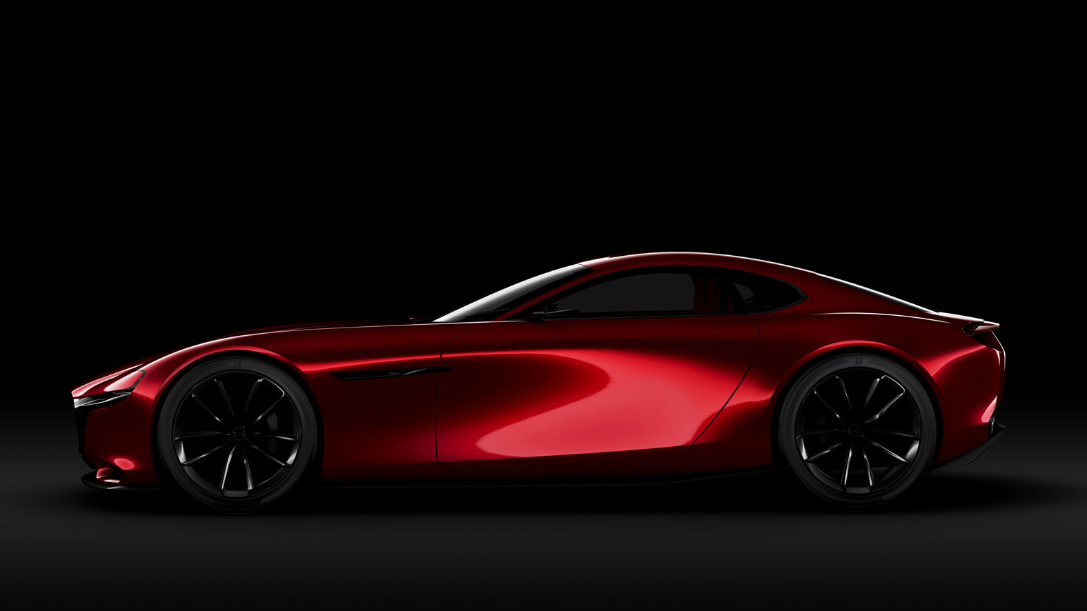 new mazda rx vision concept looks into the rotary s future carscoops. Black Bedroom Furniture Sets. Home Design Ideas