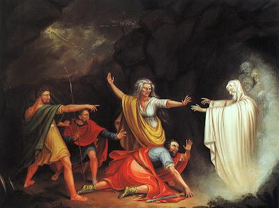 בעלת האוב, שמואל ושאול