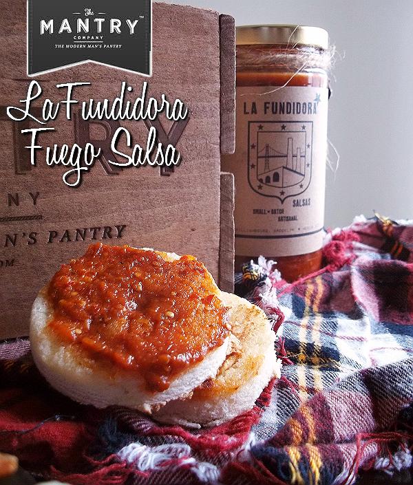 MANTRY- Modern Man's Pantry Subcription Box, Hand Picked Artisan Foods and Ingredients- La Fundidora Fuego Salsa