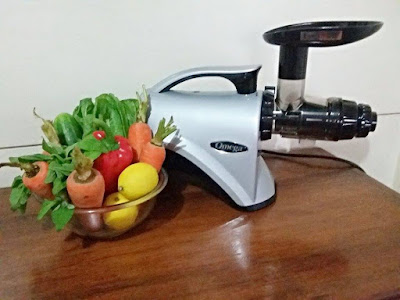 Best duo- organic vegetables and a slow masticating juicer