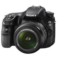 Sony SLT-A58K 20.4 Megapixels Digital SLR Camera with SAL18-55 Lens at 23,593 after cashback Via Paytm