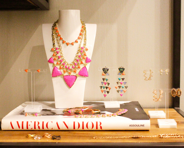 Emily Statement Necklace in Pink Hibiscus, Kendra Scott Showroom