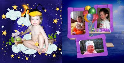 дизайн детской фотокниги