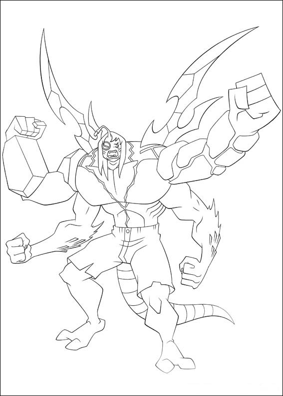 ben 10 lodestar coloring pages - photo#15