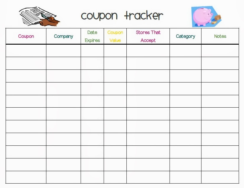Coupon Tracker