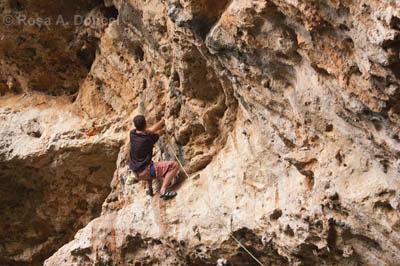 escalada de grado en Malta