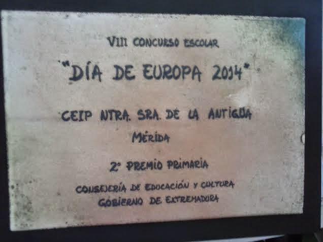 """VIII Concurso Escolar """"Día de Europa"""""""