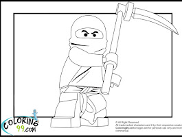 Lego Ninjago Cole Zx Coloring Pages