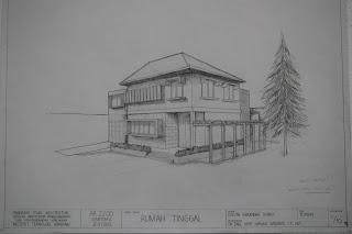 Sketsa Rumah Minimalis ramah lingkungan