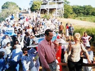 Wilson Cruz participa há 65 anos da Festa de Nossa Senhora dos Navegantes. Foto foi tirada em 1996 (Foto: Arquivo pessoal)