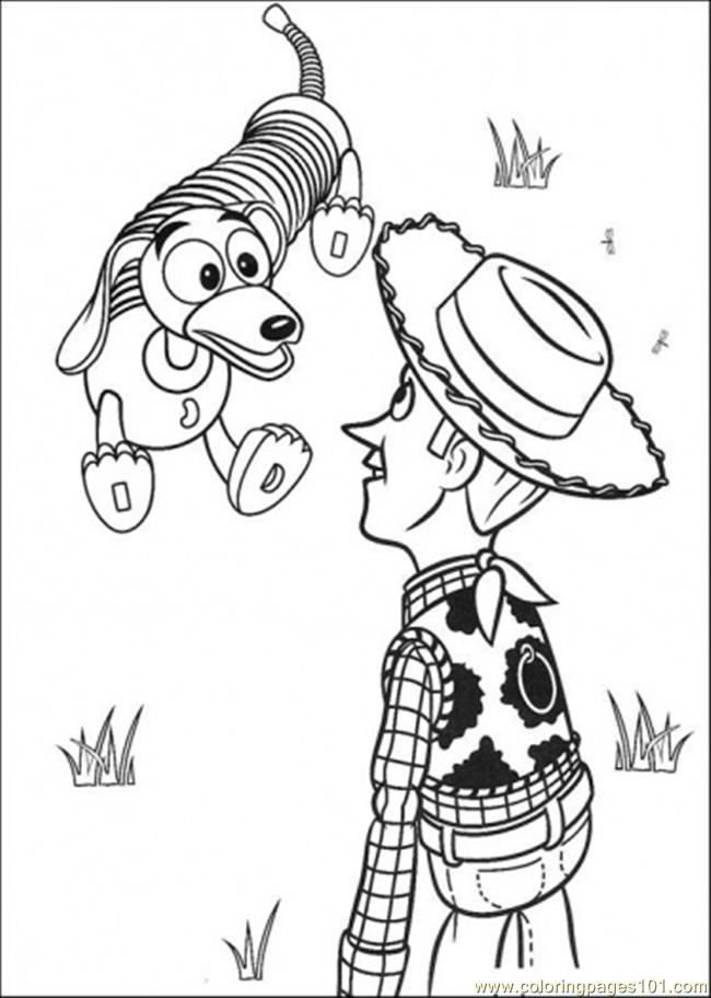 disney woody coloring pages - photo#13