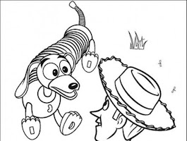 Woody Toy Story Coloring Pages Free