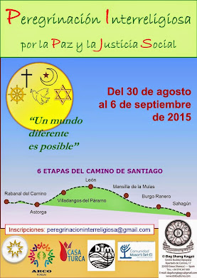 PEREGRINACIÓN INTERRELIGIOSA POR LA PAZ Y JUSTICIA SOCIAL