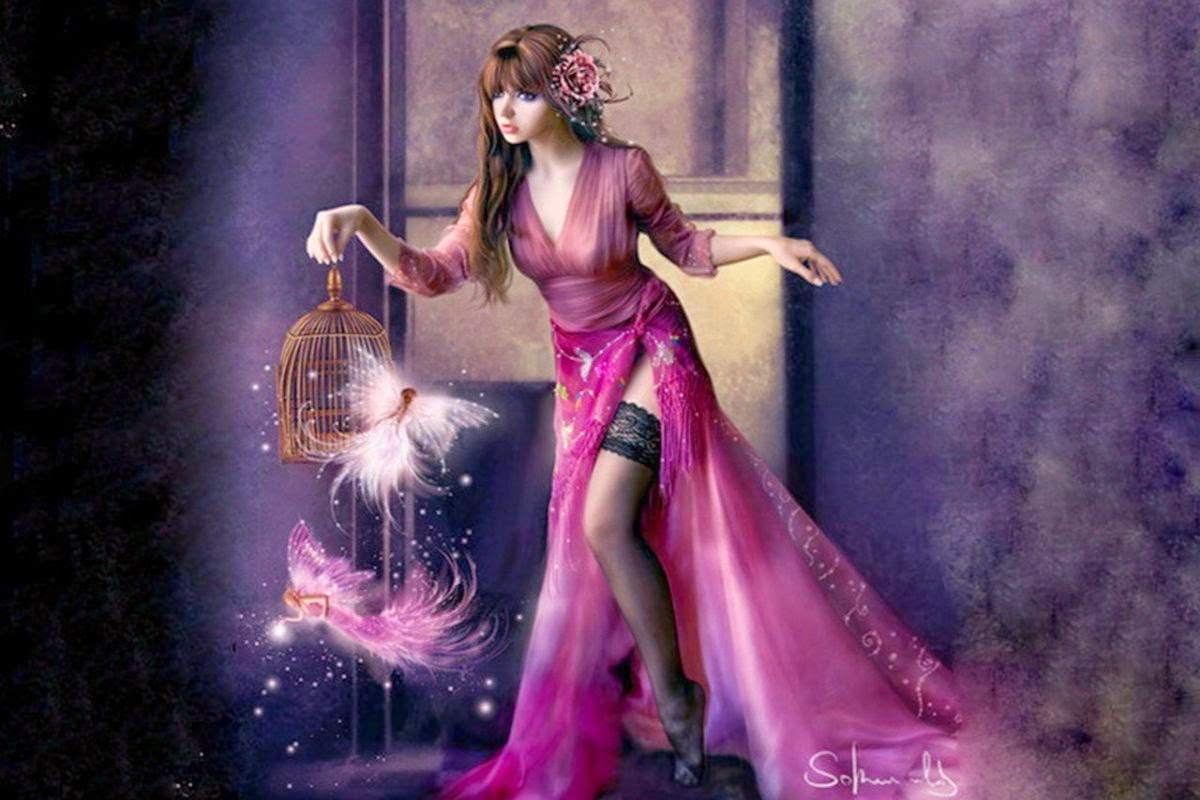 girl from a fairy - photo #49