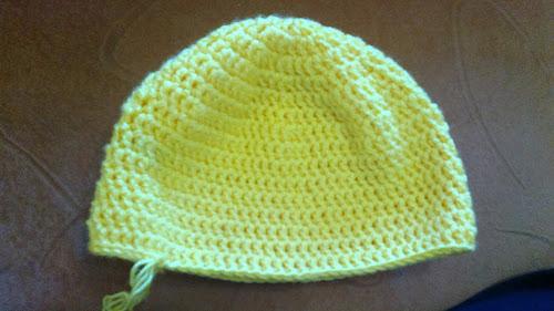 Схема вязания осенней шапки