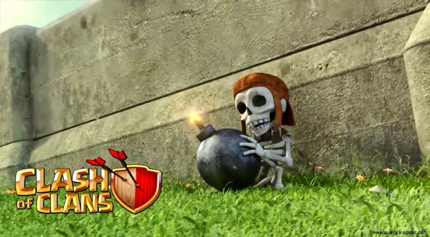Clash Of Clans Wall Breaker Hd Wallpaper Wallpapers Quality