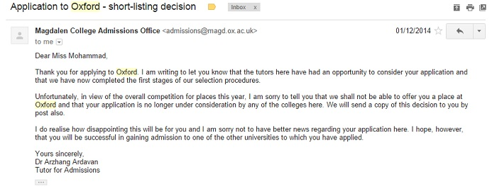 Why Im Glad I Was Rejected From Oxford University