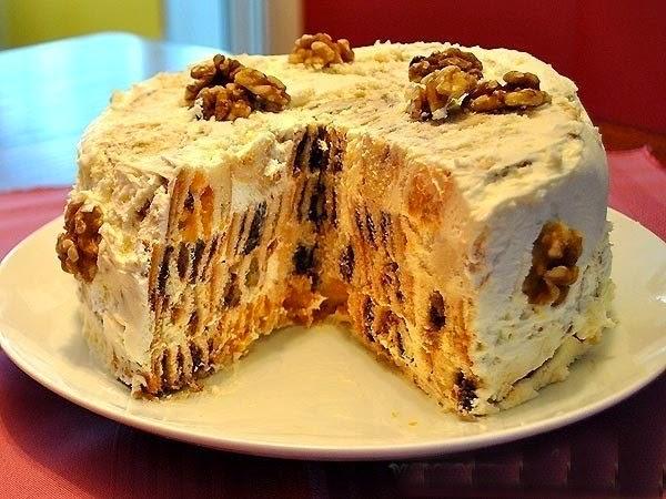 вкусный сметанный торт рецепт шеф повар одноклассники