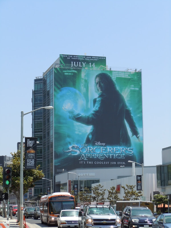 Giant Sorcerer's Apprentice billboard