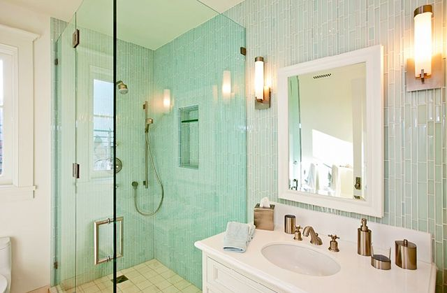 for Sea glass bathroom ideas