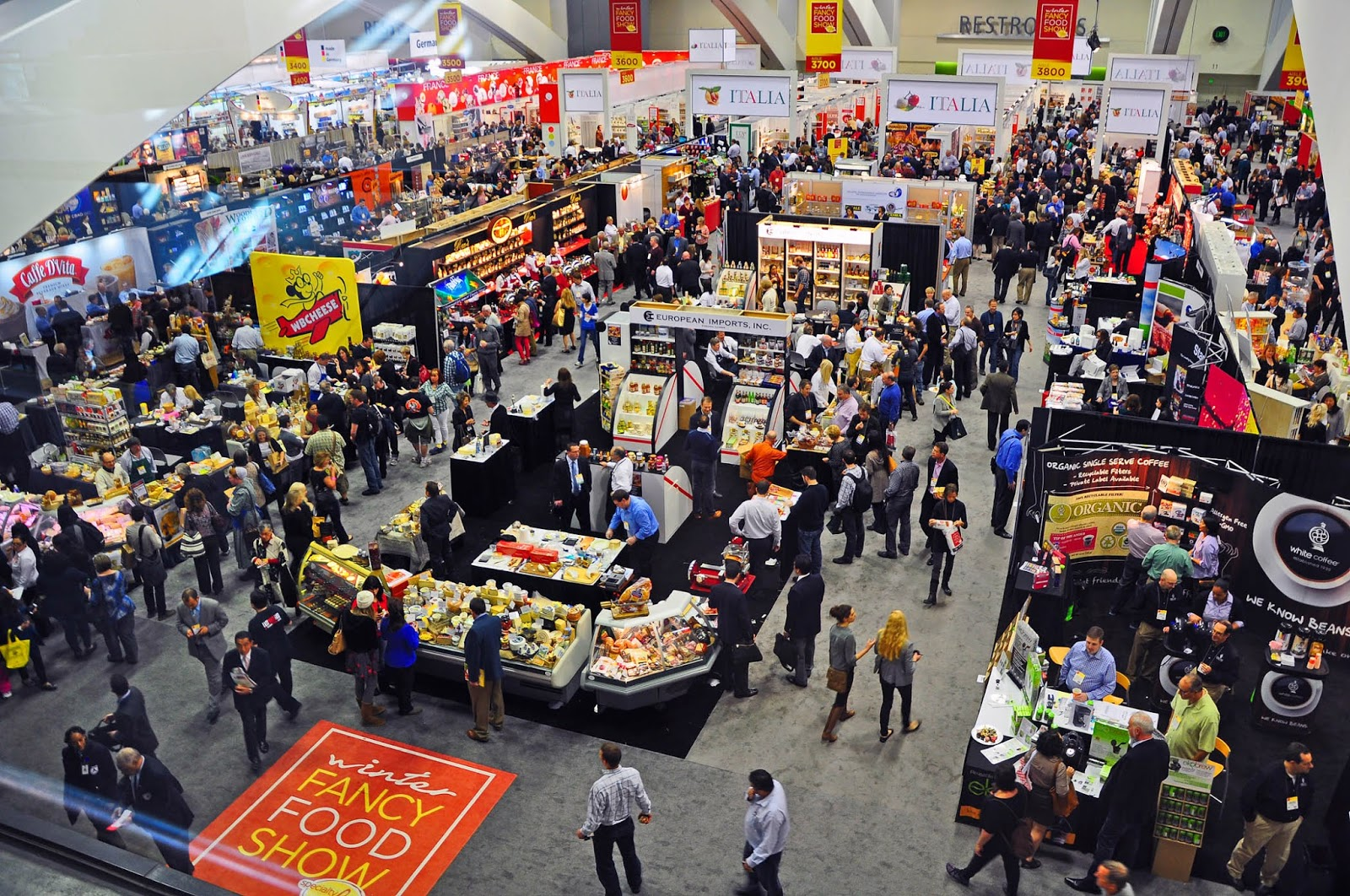 The largest specialty food marketplace on the West Coast for its 39th  annual show in San Francisco introduced a new motto   Specialty Food   Craft  Care Winter Fancy Food Show 2014 Introduces New Brand for the Industry  . Fancy Food Show New York Address. Home Design Ideas