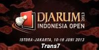 Siaran Langsung Djarum Indonesia Open 2013