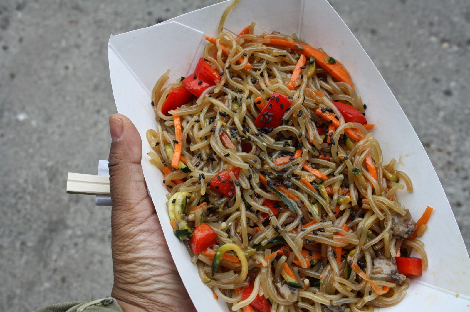 JapChae from Sew Hungry