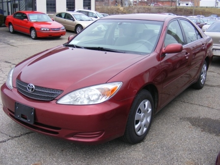 red toyota camry